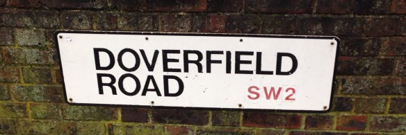 Doverfield Road sign