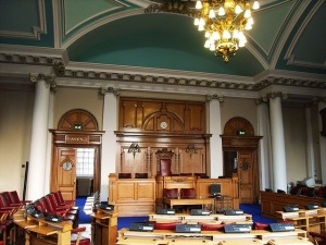 Lambeth Council Chamber